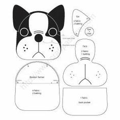 Free Sewing Patterns To Make Cute Boston Terrier Inspired Puppy Coin Purse . - Free sewing patterns to cute Boston Terrier inspired Puppy Coin Purse with z … – fabric- bags, - Boston Terriers, Terrier Puppies, Puppies Puppies, Sewing Hacks, Sewing Tutorials, Sewing Crafts, Sewing Tips, Love Sewing, Sewing Projects For Beginners