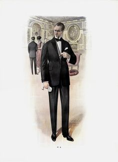 1920 French Fashion Plate