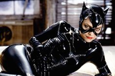 Michelle Pfeiffer in 'Batman Returns' as the iconic Catwoman. The reason why I love 'Batman'.