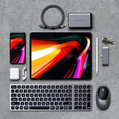 Take your iPad Pro to the next level with Satechi ⚡️ Tech Hacks, Tech Gadgets, Ipad Accessories, Computer Accessories, Macbook Pro, Accessoires Ipad, Ipad Pro Apple, Tech Art, Tech Tech