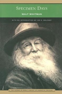 Specimen Days (Barnes & Noble Library of Essential Reading)