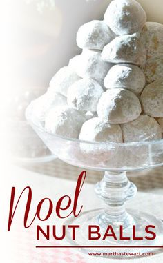 Mrs. Kostyra's noel nut balls have been a Kostyra family favorite for as long as Martha can remember.