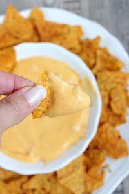 Rezepte mit Herz: Käsedip für Nachos ♡ Tacos