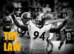 Steelers - Lawrence Timmons = THE LAW