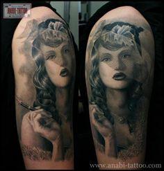 Tatuagem por Anabi Tattoo