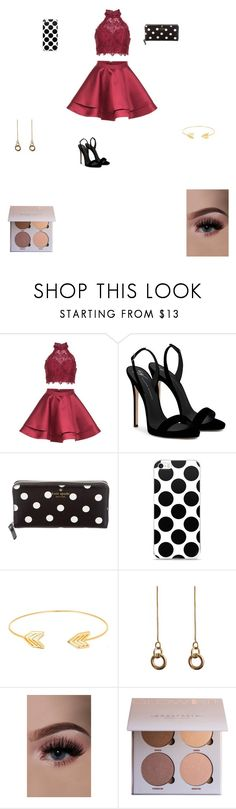 """""""Untitled #539"""" by maddieurban ❤ liked on Polyvore featuring Alyce Paris, Giuseppe Zanotti, Kate Spade, Lord & Taylor and Laura Lombardi"""