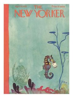 The New Yorker Cover - April 23, 1932 Regular Giclee Print