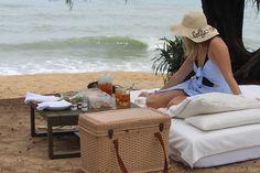 Fazer um piquenique na praia: CHECK!!