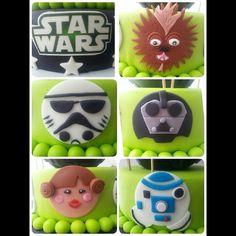 Star wars personajes fondant