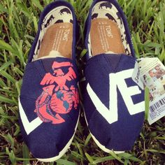 I love these USMC Toms!!!