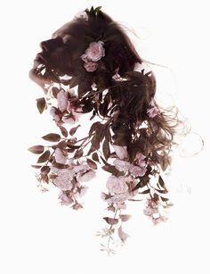 Sølve Sundsbø's beautiful editorial for Vogue Italia's beauty suppliment.