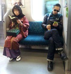 Culture Clash In Kyoto, Japan