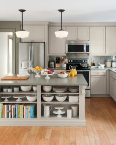 """See the """"Country: Martha Stewart Living Ox Hill Country Shaker Kitchen """" in our  gallery"""
