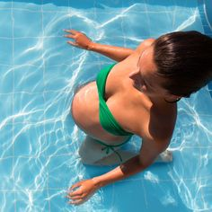 Pool exercises to keep you strong and flexible during pregnancy.