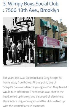 Wimpy Boys Social Club Greg Scarpa, Colombo Crime Family, Wimpy, Gangsters, Social Club, Mafia, Families, History, American