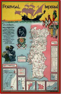 Restos de Colecção: Legião Portuguesa Vintage Advertising Posters, Vintage Travel Posters, Vintage Advertisements, Ericeira Portugal, Portuguese Royal Family, History Of Portugal, Old Scool, Portuguese Language, Portuguese Culture