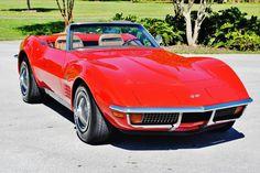 1972 Chevrolet Corvette Convertible 350ci 4spd