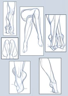 pose study / legs and foots by hel78 on DeviantArt