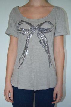 Tshirt noeud T36/38 dans T-Shirt / vêtements / mode