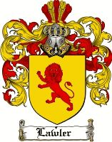 Lawler Coat of Arms / Lawler Family Crest