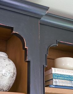 Painted Hutch -- inspiration with Asian feel
