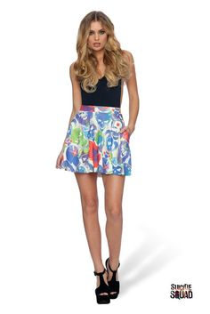 Let's go save the world. This skirt has pockets, because keeping your phone and…