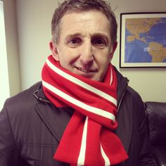 Jonathan Davies in a Smart Turnout Cornell scarf