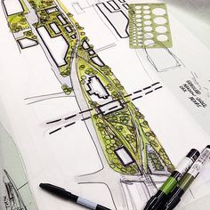 #landscapearchitecture #landscapedesign #project  #landarch #art #sketch…