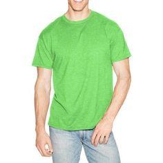 Hanes Men's X-Temp Short Sleeve Tee, Size: Small, Green