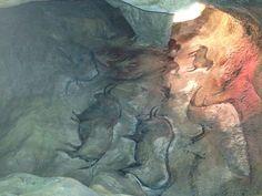 nástěnné malby v Tajuplné jeskyni