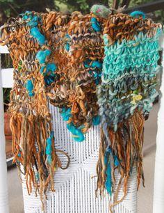 Desert Horse Handspun Bulky Wool Yarn
