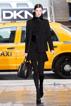DKNY Fall 2012 - Love this!        New York Fashion Week Fall 2012 Runway Looks - Best Fall 2012 Runway Fashion - Harper's BAZAAR