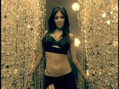 Nicole Scherzinger from pussycat dolls in Buttons video. Killer abs!