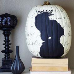 Spellbinding Black-and-White Halloween Decorations