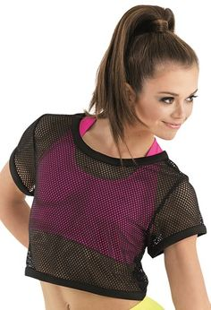 Sport Mesh Oversized Cropped Top | Urban Groove®