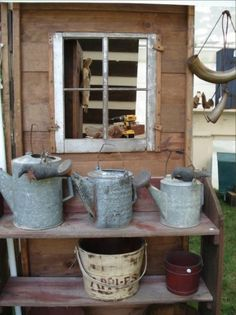 Watering cans ~ among my Favorite Things, for sure!