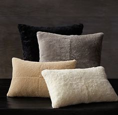 Shearling Pillow Covers