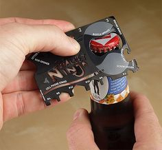 Wallet Ninja 16-in-1 Pocket Multi-Tool - $10 @Cacey Miles christmas present for dad?