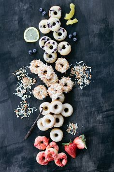 Bake up a batch of mini doughnuts (because we all deserve a little treat now and then).