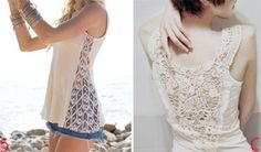 http://interestingfor.me/wp-content/uploads/2013/10/DIY-t-shirt-refashion-with-white-lace.jpg
