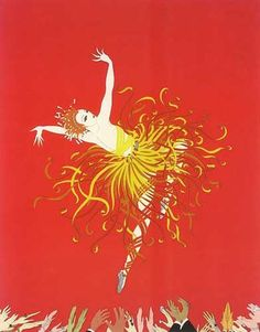 Applause AP 1983 by  Erte, Limited Edition Print, Serigraph on Paper