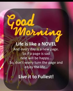 Good Morning Inspirational Quotes & Sayings With Images