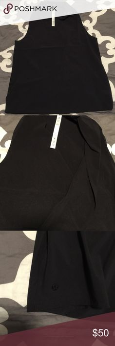 Lululemon blouse tank Lululemon drapey, blouse like sleeveless shirt.  Very good condition.  Can be worn with leggings or jeans for a chic look lululemon athletica Tops