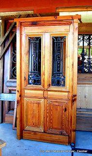 Puerta Pinotea - Don Mario Muebles del Ayer