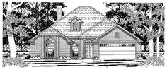 Eplans European House Plan - Carefully Crafted Details - 1834 Square Feet and 4 Bedrooms from Eplans - House Plan Code HWEPL12088