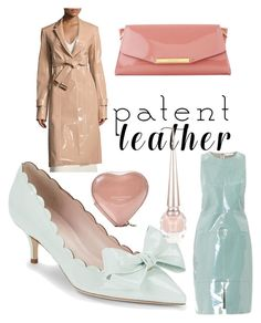 """Patent Spring!"" by wilsonfive ❤ liked on Polyvore featuring Calvin Klein Collection, L.K.Bennett, Richard Nicoll, Kate Spade, Christian Louboutin and Aspinal of London"