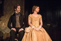 James Murphy and Mary Lou McCarthy in The Heiress by Ruth and Augustus Goetz, based on the novel Washington Square by Henry James. Picture by Pat Redmond James Murphy, Washington Square, Dublin City, Online Tickets, Theatre, Novels, Mary, Pictures, Fashion