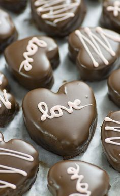 Chocolate Dipped Cookie Dough Hearts - Valentines Day Desserts That Make The Most Perfect Little Gifts - Photos