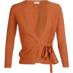 DRIES VAN NOTEN 'Jumbo' Cotton Knit Cardigan ($325) ❤ liked on Polyvore