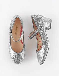 Glitter Mary Janes